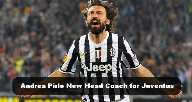 Andrea Pirlo new head coach