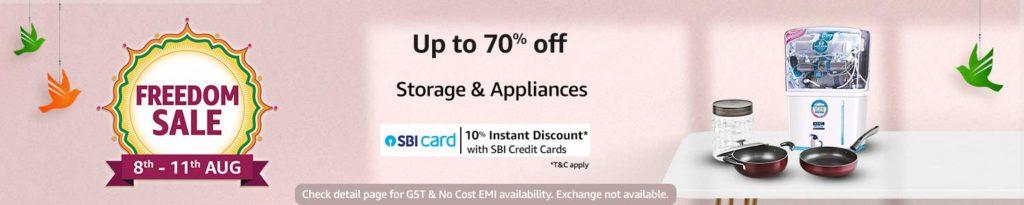 storage & appliances discount