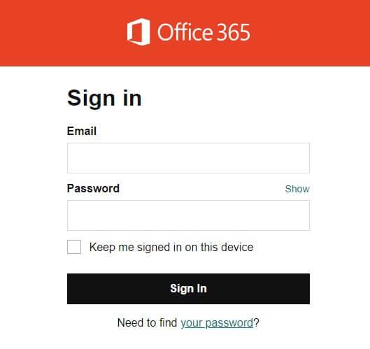 Office 365 GoDaddy Login