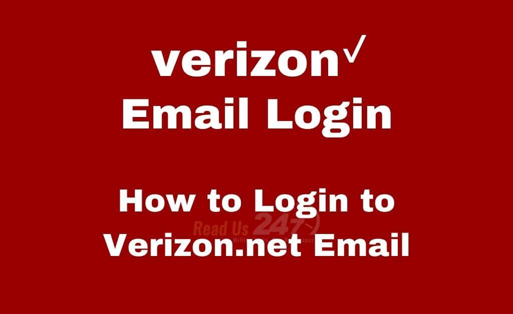 Verizon Email Login