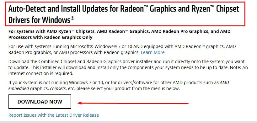 AMD audio driver