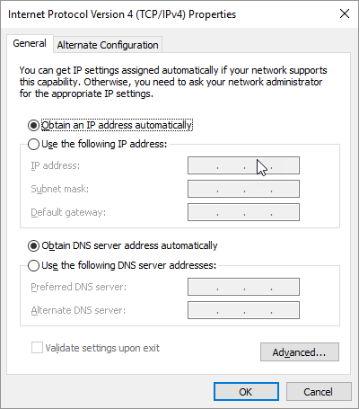 Change your DNS Server Address