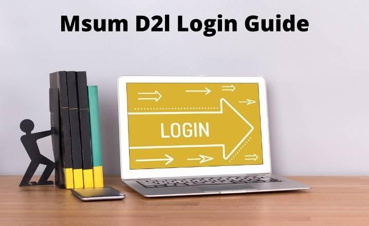 Msum D2l Login Guide