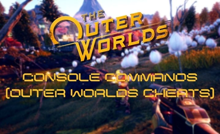 outer worlds console commands