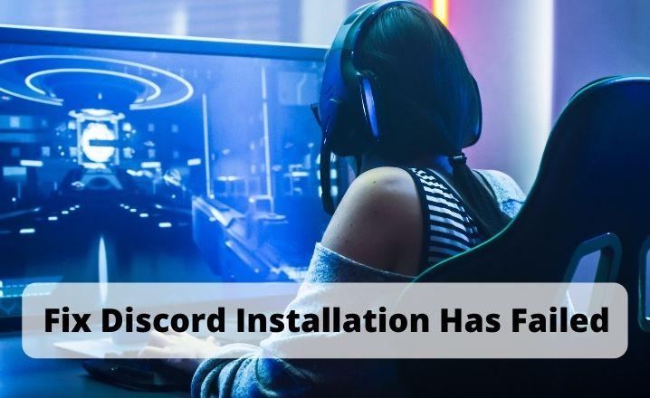 discord installation has failed