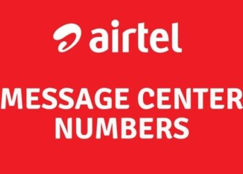 Airtel Message Center Numbers