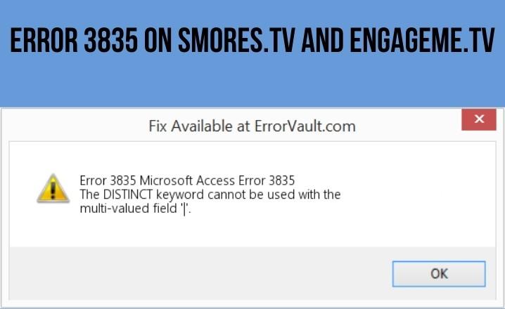 Error 3835