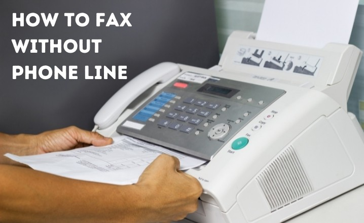 Fax Without Phone Line