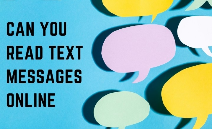 can you read text messages online