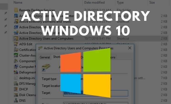 active directory windows 10