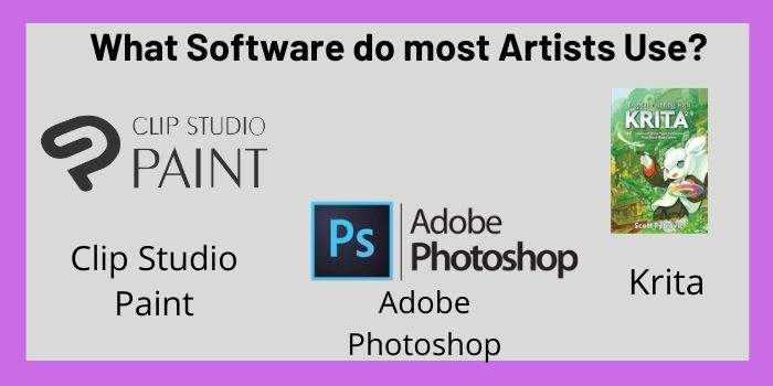 What Software do most Artists Use