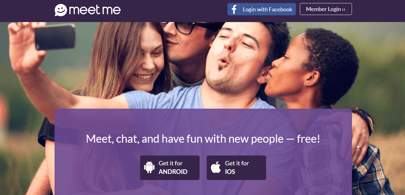 MeetMe—Greet New Peeps