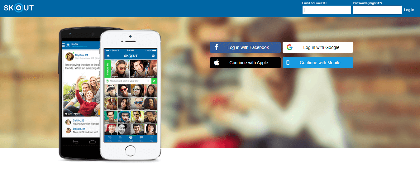 Skout—Chat, Learn, Live