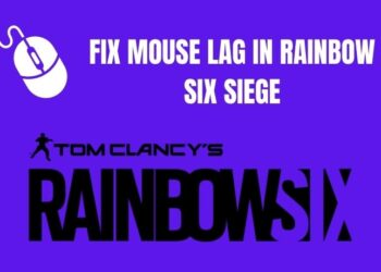 fix mouse lag in rainbow six siege