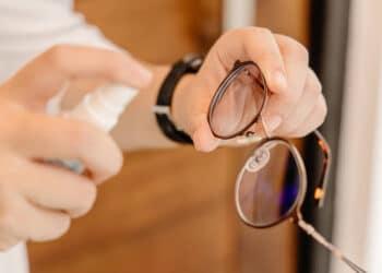 Remove Super Glue From Glasses Lens
